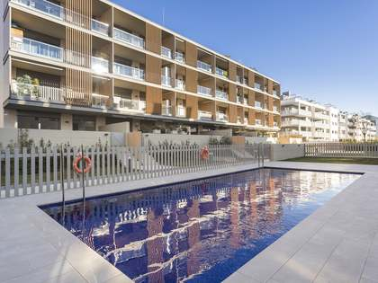 Appartement de 121m² a vendre à Sitges Town avec 82m² terrasse
