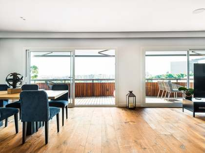 190m² Apartment with 28m² terrace for rent in Pedralbes