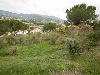 1,165 m² building plot for sale in Alella, Maresme Coast