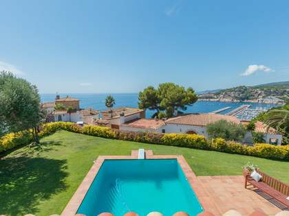 Coastal villa for sale on the Costa Brava