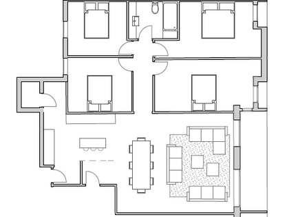 3-bedroom apartment for sale on Blasco Ibáñez