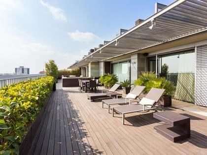 Attico di 214m² con 168m² terrazza in vendita a Pedralbes