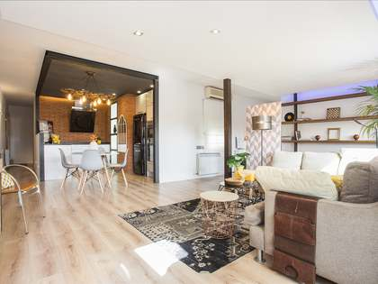 Penthouse van 90m² te huur met 10m² terras in Eixample Links