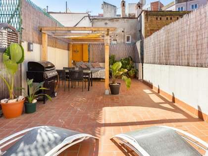 Piso de 78m² con 40m² de terraza en venta en Poble Sec