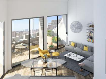 134 m² apartment with 26 m² terrace for sale, Eixample Right