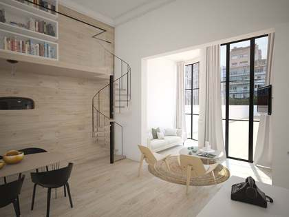 Apartment for sale with renovation included, Eixample Right