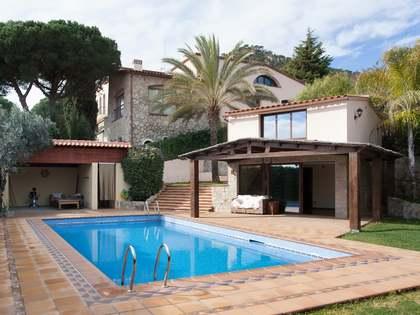 Villa de lujo en venta en Cabrera de Mar, costa del Maresme