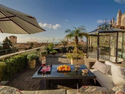 Refurbished townhouse for sale in Palma Old Town, Mallorca