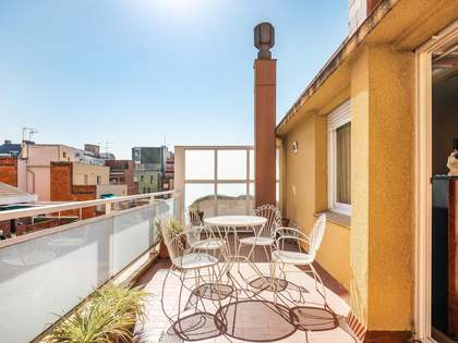 Penthouse with 120 m² terrace for sale in Sant Gervasi