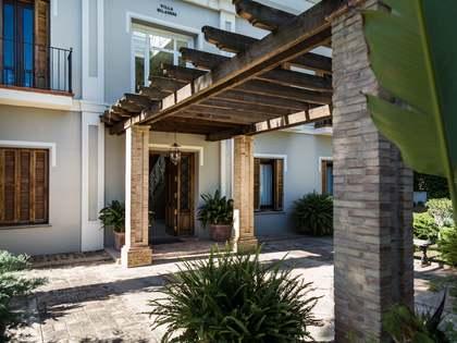 Chalet con jardín y piscina en alquiler en Godella
