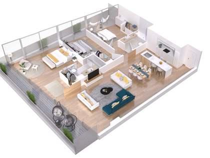 95m² Lägenhet med 25m² terrass till salu i Lloret de Mar / Tossa de Mar