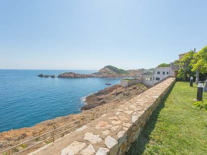 Costa Brava seafront property for sale near Begur