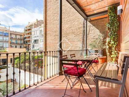 168m² Apartment with 10m² terrace for rent in Eixample Right