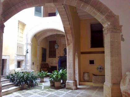 Historic Palace for sale in Palma, Mallorca.