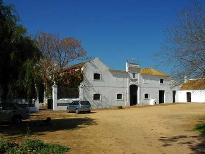 Large Andalucian farmhouse for sale near Seville