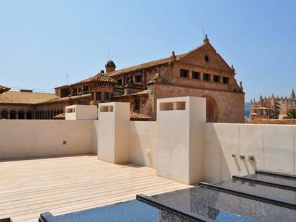 Penthouse apartment for sale in centre of Palma, Mallorca.