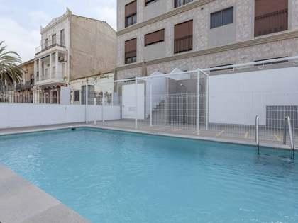 100m² Wohnung zur Miete in Playa de la Malvarrosa, Valencia