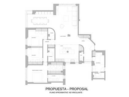 Piso de 207m² en venta en Almagro, Madrid
