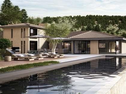Neubau im Landhausstil zum Verkauf in Nordwest Mallorca.
