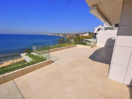 2-bedroom beachfront apartment for sale in Estepona