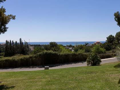 Scenic building plots for sale near Sitges