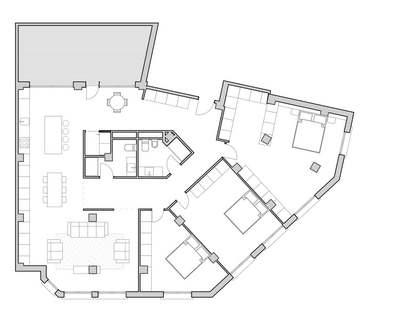 Piso de 133m² con 15m² terraza en venta en Ruzafa, Valencia