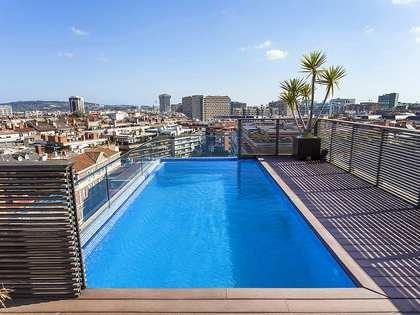 Ático con piscina privada en venta cerca de Turó Park