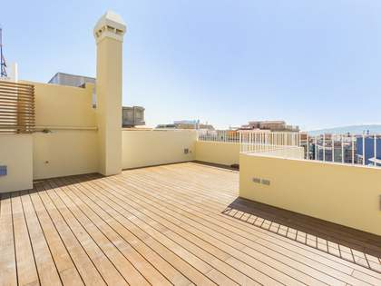 3-bedroom duplex penthouse for sale on Avinguda Diagonal