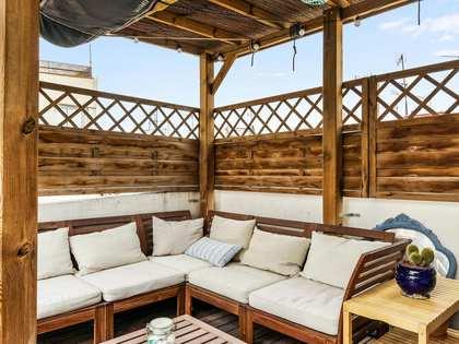 82m² Dachwohnung mit 71m² terrasse zum Verkauf in Poble Sec