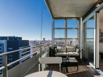 Квартира 85m², 8m² террасa на продажу в Диагональ Мар