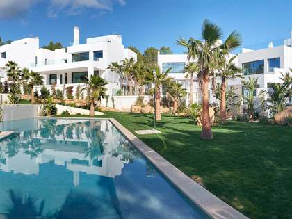 Contemporary villa for sale with a private pool and garden