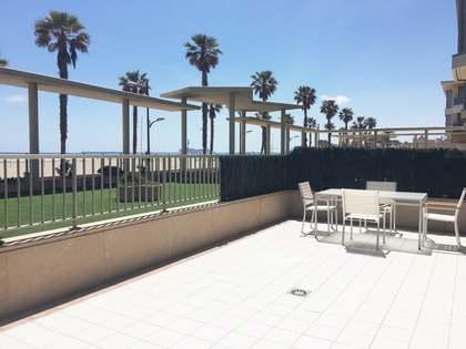Appartamento di 110m² con 45m² terrazza in affitto a Patacona / Alboraya