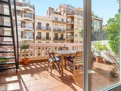Appartement van 57m² te koop met 18m² terras in Eixample Rechts