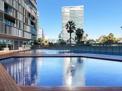 Piso de 90m² con 56m² terraza en alquiler en Diagonal Mar