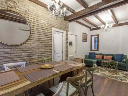 Piso de 109m² con terraza de 20m² en venta en la Malvarrosa