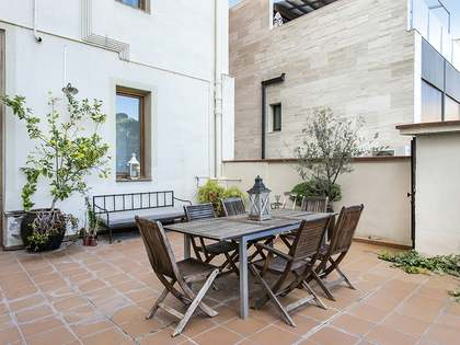 Unfurnished duplex with terrace to rent in Gràcia, Vallcarca