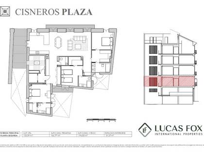 197 m² apartment with 31 m² terrace for sale in La Seu