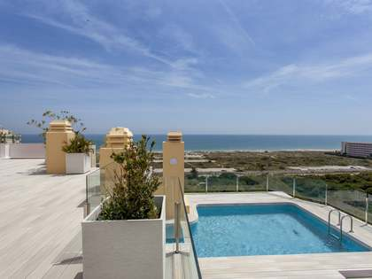 Penthouse van 183m² te huur met 248m² terras in El Saler / Perellonet