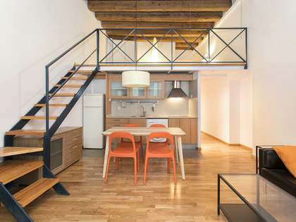 80 m² apartment for rent in Barcelona's Gothic area