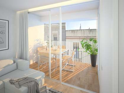 75m² Apartment with 25m² terrace for sale in El Clot