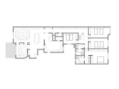 在 Gran Vía, 瓦伦西亚 248m² 出售 房子 包括 8m² 露台