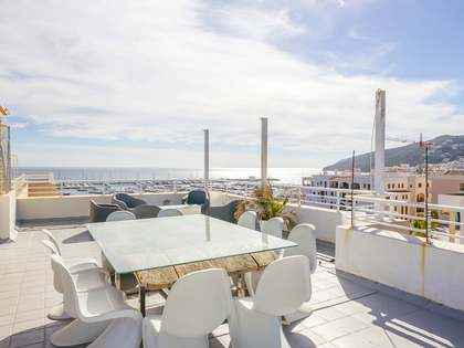 3-bedroom penthouse with 2 terraces for sale, Santa Eulalia