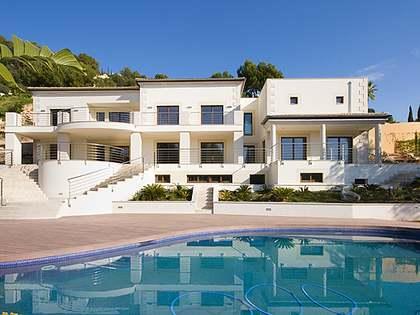 Moderne Neubau-Villa zum Verkauf in Palma, Mallorca.