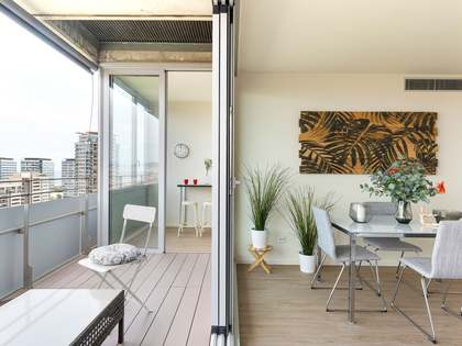 115m² Apartment with 10m² terrace for sale in Diagonal Mar