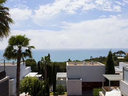 Duplex penthouse with 3 terraces for sale in Els Cards