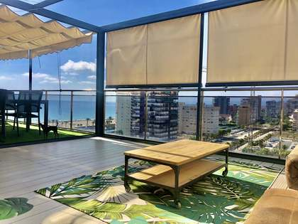 140m² Penthouse with 69m² terrace for sale in Playa San Juan