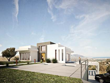 Very large new build villa for sale in La Mairena