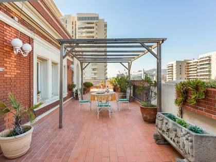 Ático de 192m² con 124m² terraza en venta en Turó Park