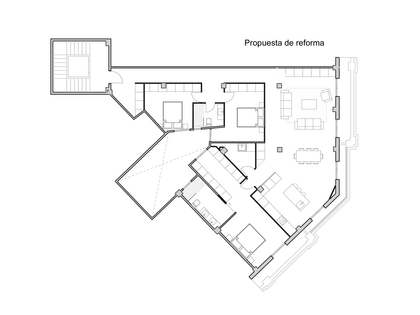 Appartement van 154m² te koop in Gran Vía, Valencia