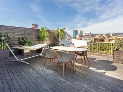 Penthouse van 105m² te koop met 40m² terras in Eixample Links